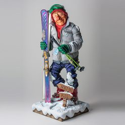 Лыжник The Skier 100%