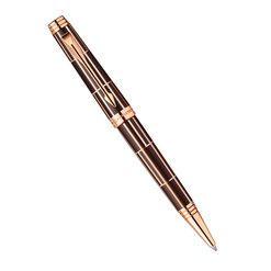 Шариковая ручка Parker Premier Luxury Brown PGT