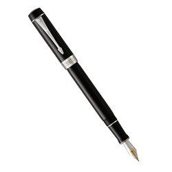 Перьевая ручка Parker Duofold Classic Centennial Black CT