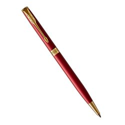 Шариковая ручка Parker Sonnet Slim Intense Red Lacquer GT