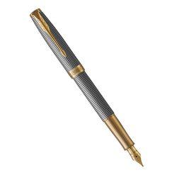 Перьевая ручка Parker Sonnet Chiselled Silver GT