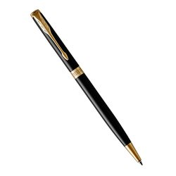 Шариковая ручка Parker Sonnet Slim Laque Black GT