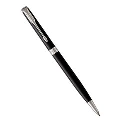 Шариковая ручка Parker Sonnet Slim Laque Black CT