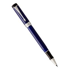 Ручка роллер Parker Duofold Classic Blue & Black CT