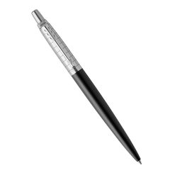 Шариковая ручка Parker Jotter Premium Bond Street Black Grid CT