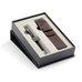 Подарочный набор шариковая ручка Parker Sonnet Laque Black СT с чехлом