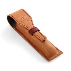 Кожаный чехол для ручки Parker Brown