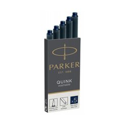 Картридж с водостойкими чернилами Parker Blue Black