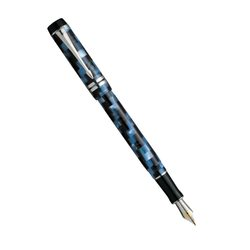 Перьевая ручка Parker Duofold Check Marine Blue CT