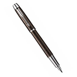 Перьевая ручка Parker IM Premium Metal Brown CT