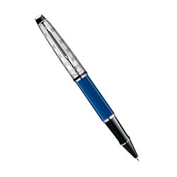 Ручка роллер Waterman Expert 3 DeLuxe Obsession Blue CT