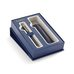 Подарочный набор перьевая ручка Waterman Hemisphere Matte Black CT с кожаным чехлом