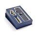 Подарочный набор перьевая ручка Waterman Expert Black Laque GT с кожаным чехлом