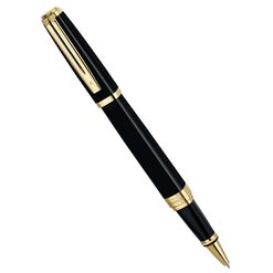 Ручка роллер Waterman Exception Ideal Black GT