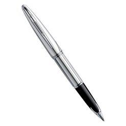Перьевая ручка Waterman Carene DeLuxe Silver Meridians ST