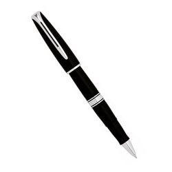 Ручка роллер Waterman Charleston Ebony Black CT
