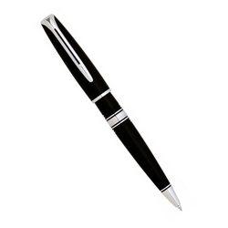 Шариковая ручка Waterman Charleston Ebony Black CT