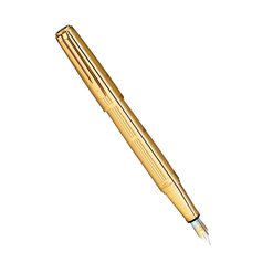 Перьевая ручка Waterman Exception Solid Gold
