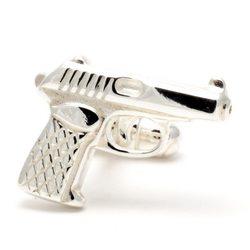 Запонки Студия 3M пистолет Макарова