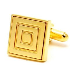 Запонки Mr. Cuff золотые рамки
