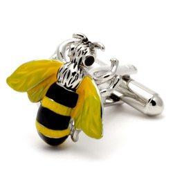 Запонки Metal Fun пчела