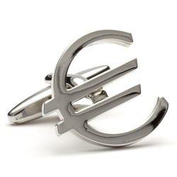 Запонки Metal Fun евро