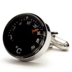 Запонки Metal Fun термометр