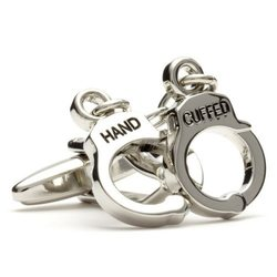 Запонки Metal Fun наручники