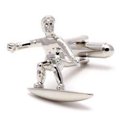 Запонки Metal Fun серфер