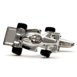 Запонки Metal Fun болид F1