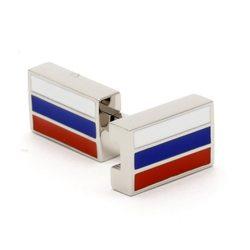 Запонки Zaponka флаг России